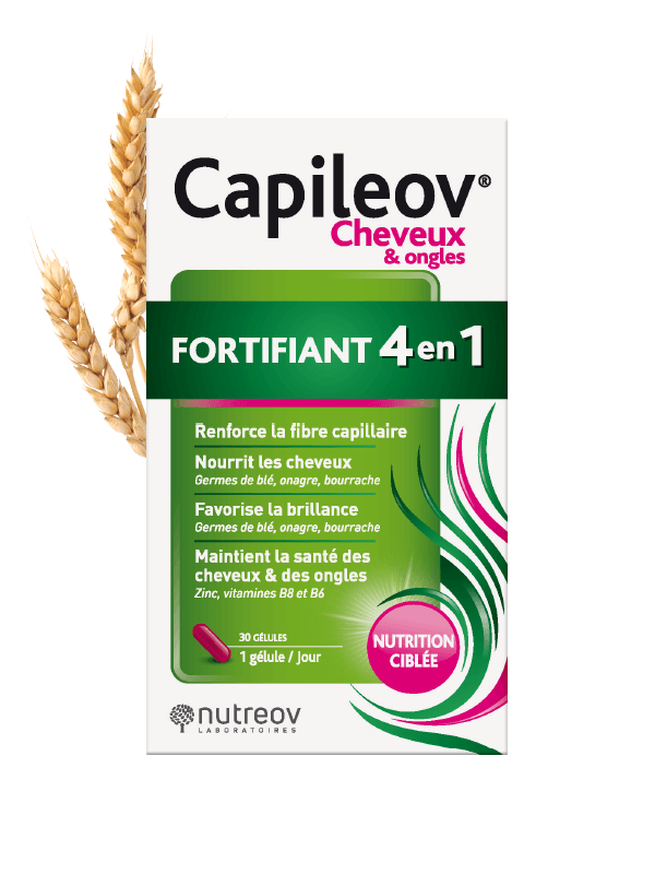 Capileov® Fortifiant Cheveux et ongles